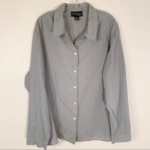 Requirements Button Up Career Work Shirt Size 24